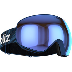 Bliz Floz Lunettes de protection, matt blue/brown-blue multi